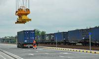 Kauno intermodalinis terminalas sujungtas su europine geležinkelio vėže