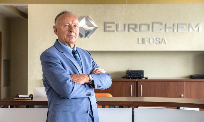 """Jonas Dastikas, Kėdainių fosforo trąšų gamybos įmonės AB """"Lifosa"""" generalinis direktorius."""