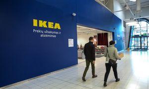 Vėl svarstant apie karantiną IKEA suplanavo rekordinįnaujų parduotuvių skaičių