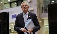 """M. Barnier ragina JK pasinaudoti """"likusiu trumpu laiku"""" ir siekti susitarimo"""