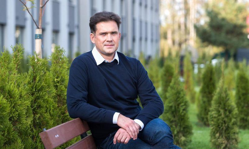 NT bendrovės REWO direktorius Edvinas Malevskis sako, kad ypač svarbi naujų kvartalų aplinka, želdynai, medžiai.