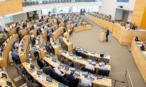 Pasibaigus karantinui Seimo nariai ėmė leisti parlamentinei veiklai skirtas lėšas