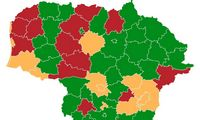 Lietuva suskirstyta į 3 zonas: keliolikoje savivaldybių – karantinas