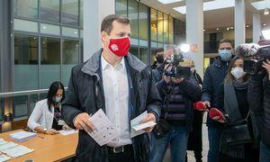 G. Paluckas atidavė balsą rinkimuose: sako rinkęsis mažesnę blogybę
