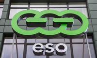 ESO dujų skirstymo pajamų viršutinė riba auga 7,3%