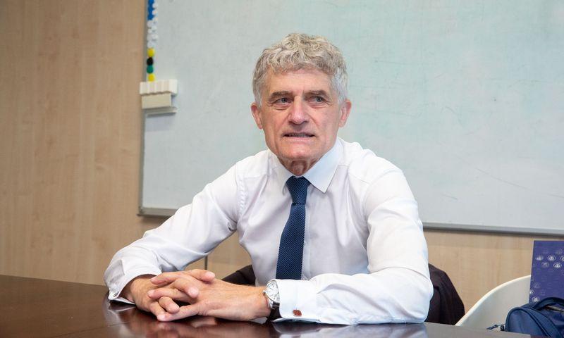 Algis Latakas, Klaipėdos valstybinio jūrų uosto direkcijos generalinis direktorius. Juditos Grigelytės (VŽ) nuotr.