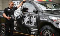 """B. Vanagas Dakare startuos su gamykline """"Toyotos"""" komanda"""