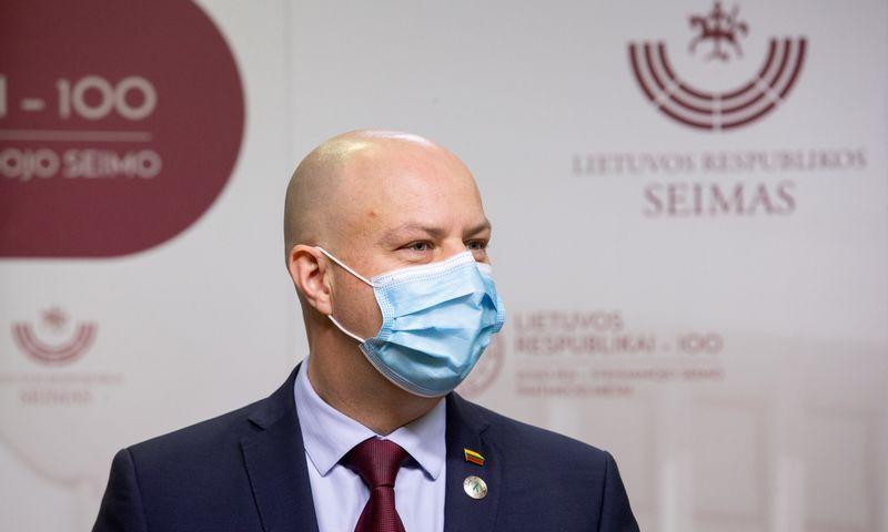 Aurelijus Veryga, sveikatos apsaugos ministras. Juditos Grigelytės (VŽ) nuotr.
