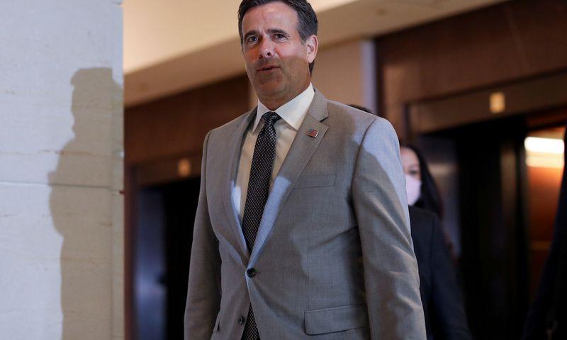 """JAV nacionalinės žvalgybos direktorius Johnas Ratcliffe'as. Leah Millis (""""Reuters""""/""""Scanpix"""") nuotr."""