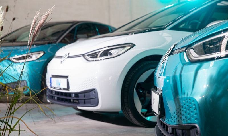 Verslas parodė gerokai didesnį poreikį elektromobiliams, nei fiziniai asmenys. Juditos Grigelytės (VŽ) nuotr.