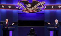 Per paskutinius J. Bideno ir D. Trumpo debatus nokautų nebuvo