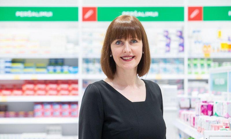 """Ingrida Damulienė, vaistinių tinklo """"Eurovaistinė"""" valdybos pirmininkė."""