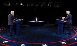 Paskutiniai JAV prezidento rinkimų debatai ramesni ir racionalesni, tačiau nedaug lemsiantys