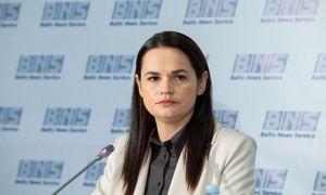 S. Cichanauskajos atstovė: atsakymas į ultimatumą – atšaukta Lukašenkos palaikymo akcija