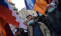 Vilniuje – protestas prieš Azerbaidžano veiksmus Kalnų Karabache
