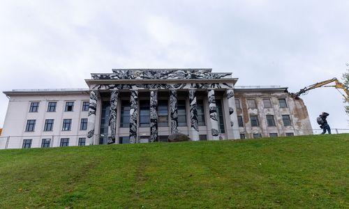 Vilnius buvusiems savininkams sumokėjo 1,79 mln. Eur už Profsąjungų rūmus