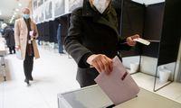 Iš anksto balsavo dešimtadalis rinkėjų
