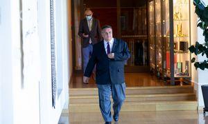 L. Linkevičius izoliuojasi po kontakto su koronavirusu užsikrėtusiu Slovėnijos kolega