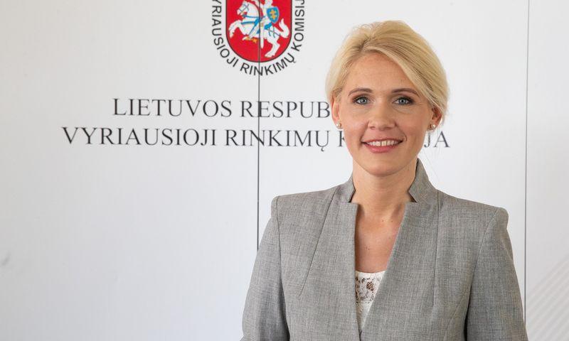 Laura Matjošaitytė, VRK pirmininkė. Vladimiro Ivanovo (VŽ) nuotr.