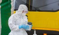 Per praėjusią parą patvirtinta 415 COVID-19 atvejų,infekcija plinta ligoninėse