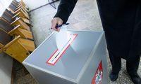 Iš anksto balsavusiųjų rinkėjų aktyvumas nedaug atsilieka nuo pirmojo turo