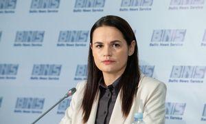 S. Cichanouskaja: Baltarusijoje skelbiamas visuotinis streikas