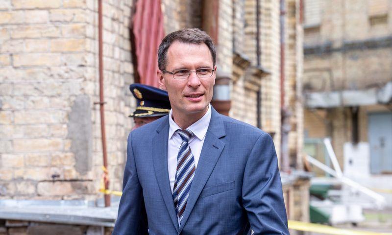 Elvinas Jankevičius, Teisingumo ministras, tvirtina apsisprendęs ginti vežėjų teises. Juditos Grigelytės (VŽ) nuotr.