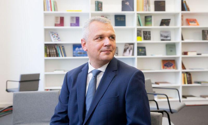 Darbo partijos sąrašo lyderis Vigilijus Jukna.  Juditos Grigelytės (VŽ) nuotr.