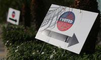 Likus daugiau nei savaitei iki rinkimų JAV, iš anksto balsavo rekordiškai daug žmonių