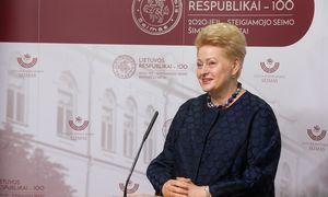 D. Grybauskaitė: šie rinkimai – geriausia, kas galėjo nutikti Lietuvai sudėtingu laiku