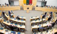 Į Seimą perrinkta 80 kadenciją baigiančių parlamentarų