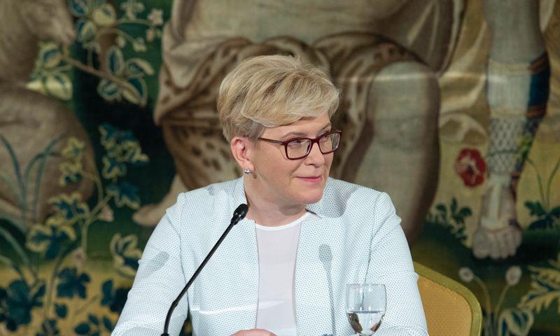 Ingrida Šimonytė, TS-LKD sąrašo lyderė. Juditos Grigelytės (VŽ) nuotr.