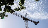 Statybos Latvijoje trečiąjį šių metų ketvirtį buvo procentu brangesnės