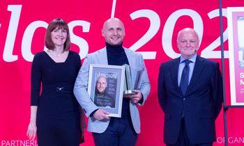 Verslo lyderių apdovanojimai: dešimtąkart išrinktas Metų CEO