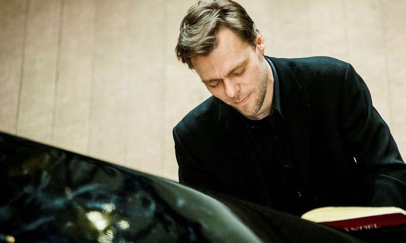 Pianistas Andrius Žlabys. Dmitrijaus Matvejevo / LNF nuotr.