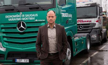Rudenį pabudusios sunkvežimių rinkos perspektyvą bandoma tik spėlioti