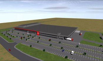 Panevėžio LEZ projektuojamas fabrikas su 1.300 darbo vietų