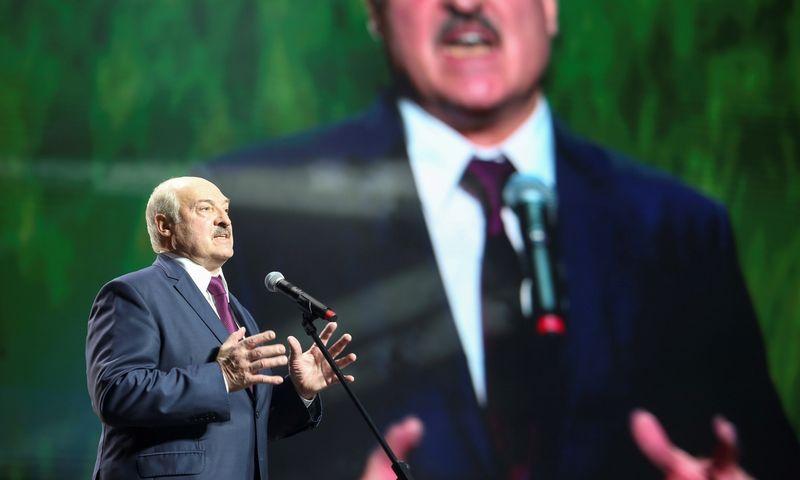 """Aliaksandras Lukašenka. Tut.By/""""Reuters""""/""""Scanpix"""" nuotr."""