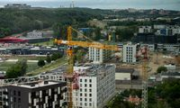 Statybos Lietuvoje per metus brango 0,3%
