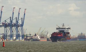 Laivybos milžinė MSC neatsisako planų atnaujinti konteinerių perskirstymą Klaipėdoje