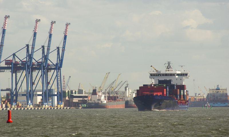 """""""Klaipėdos Smeltė"""" tikisi vėl atgauti MSC konteinerių perskirstymo centro statusą. Algimanto Kalvaičio nuotr."""
