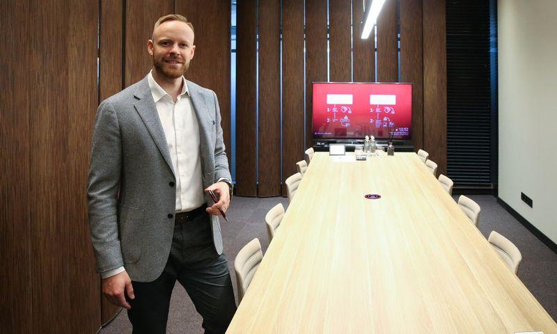 """Mindaugas Mikalajūnas, """"SME Finance"""" vadovas. Vladimiro Ivanovo (VŽ) nuotr."""