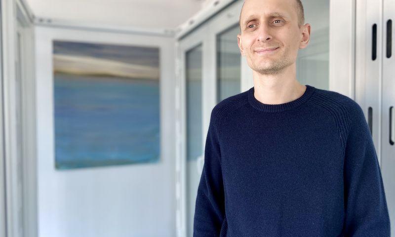 """Ugnius Adomaitis, UAB """"Aradas"""" direktorius. Įmonės nuotr."""