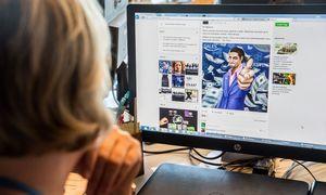 """""""Facebook"""" pajamos ir pelnas didėjo, bet vartotojų sumažėjo"""