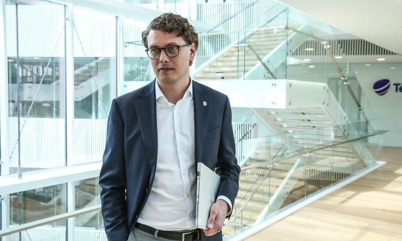 """Marius Ivanauskas, """"Telia Global Services Lithuania"""" vadovas. Vladimiro Ivanovo (VŽ) nuotr."""