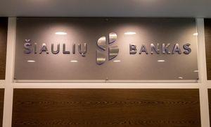 Šiaulių banko 9 mėnesių pelnas mažėjo 15,6%