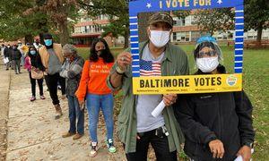 JAV iš anksto balsavo daugiau nei pusė visų 2016 m. balsavusiųjų rinkėjų