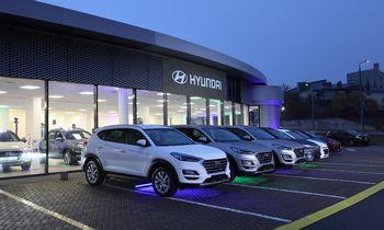 """""""Autofortas motors"""" Vilniuje atidarė didžiausią Lietuvoje """"Hyundai"""" atstovybę"""
