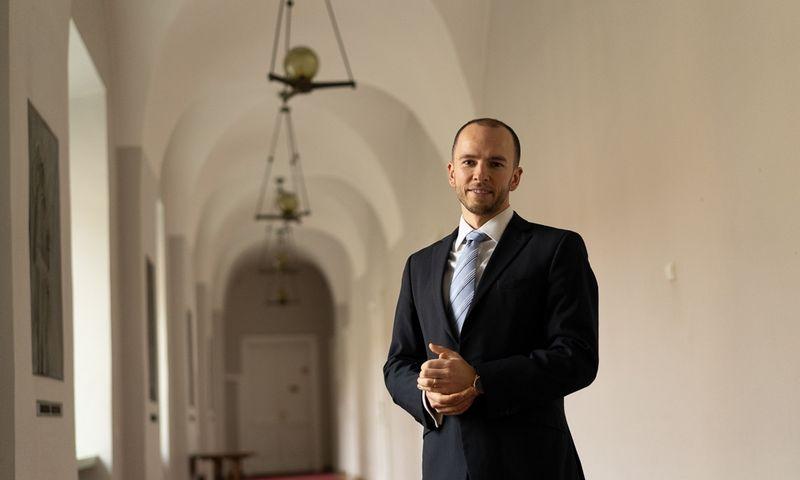 Justinas Noreika, VU investicijų fondo direktorius. Asmeninė nuotr.