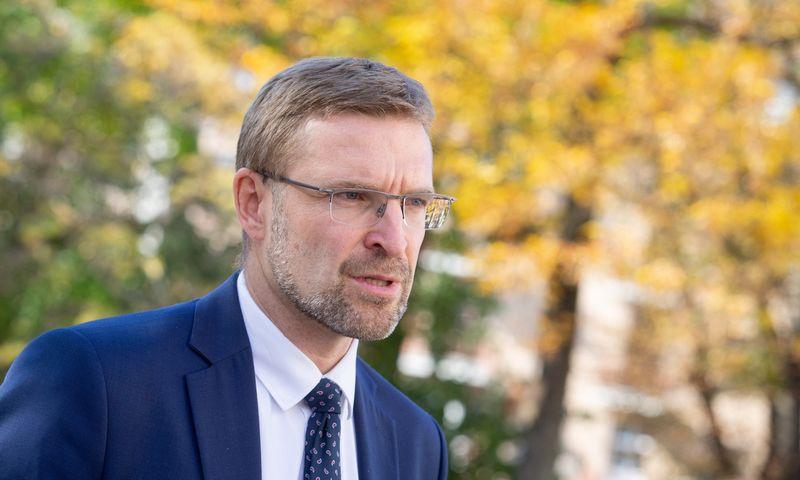 Linas Kukuraitis, socialinės apsaugos ir darbo ministras.Juditos Grigelytės (VŽ) nuotr.